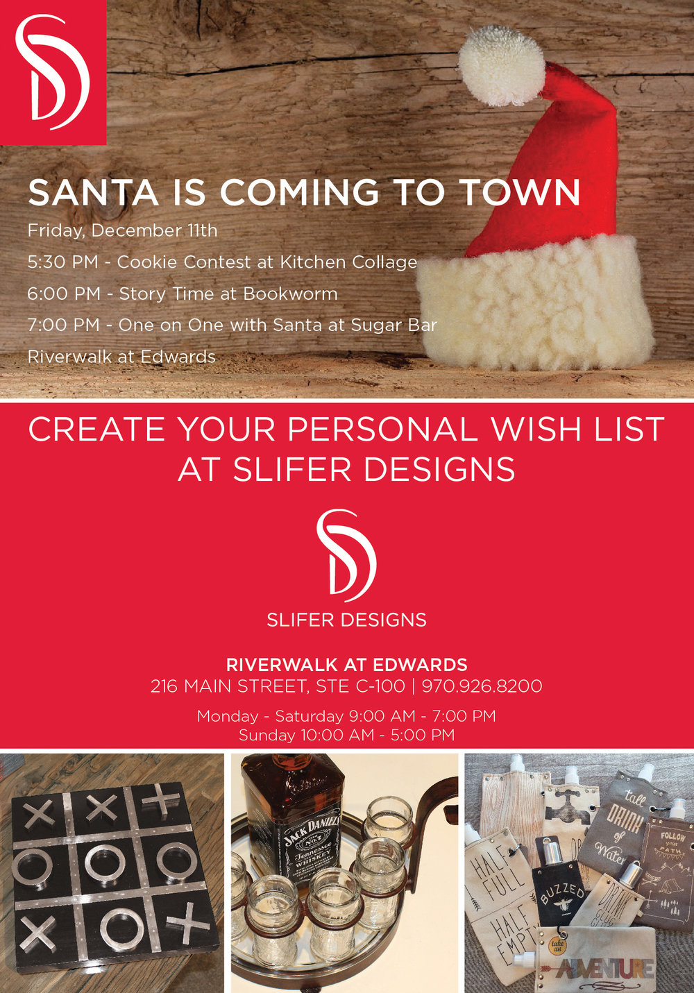 Copy of Holiday Ad for Slifer Designs