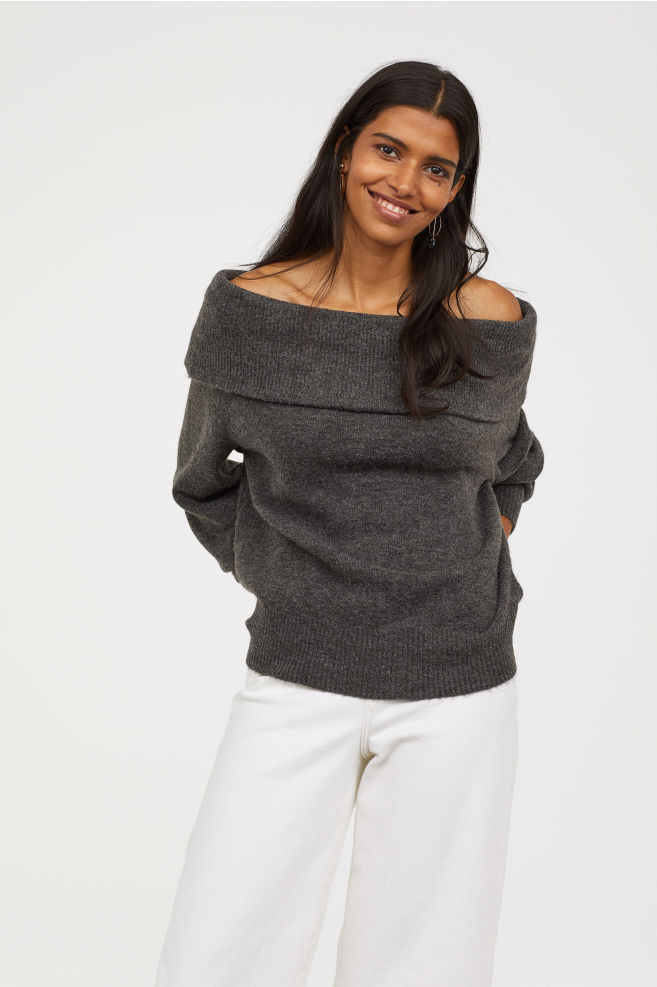 HM Off-the-Shoulder Sweater $25