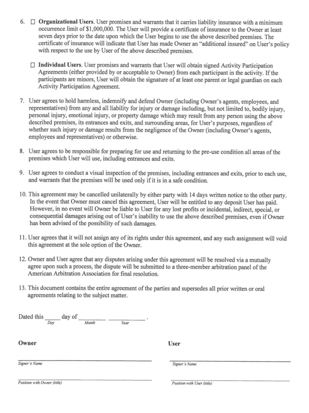 Church Facility Usage Agreement pg. 2.png