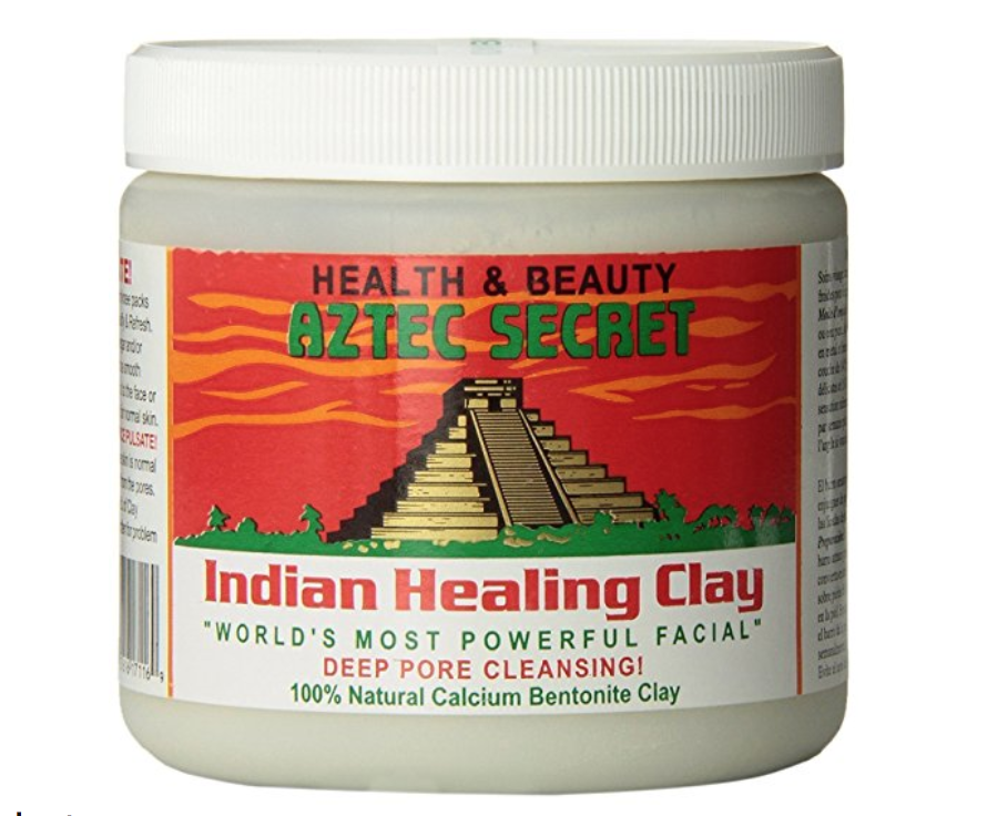 Aztec Secret - Indian Clay Mask - Unclog your pores and leave your skin feeling like a newborn with this amazing mask. Simply mix the powder with apple cider vinegar or water and apply it to your entire face. As read on the packaging, it is the