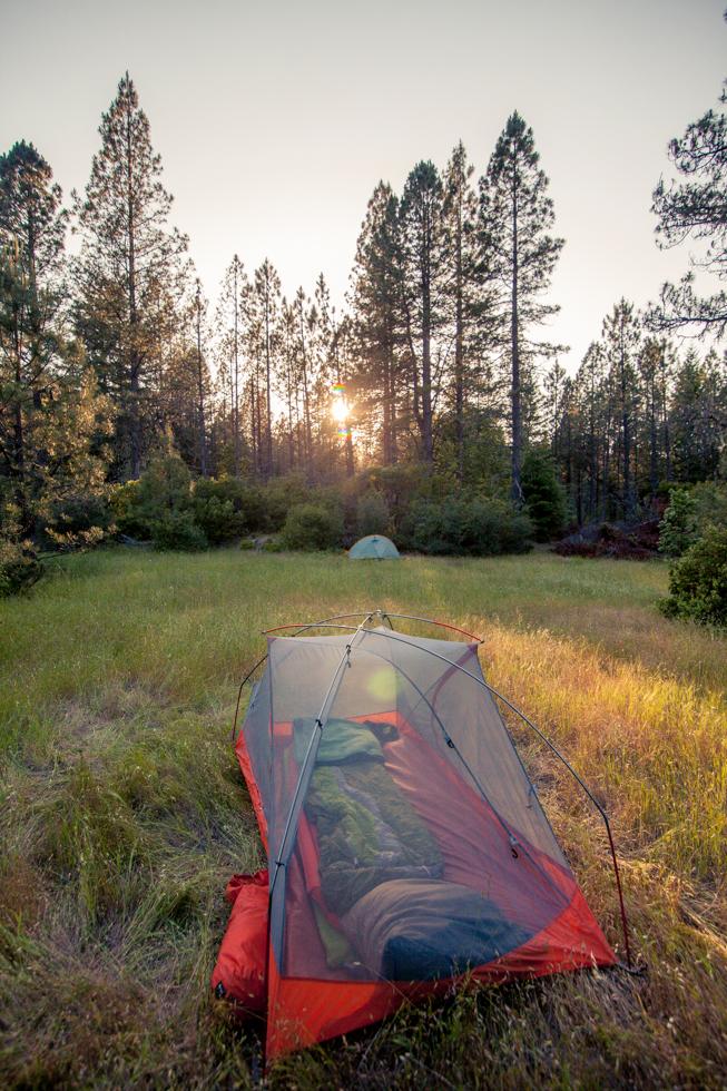 mendocino camping