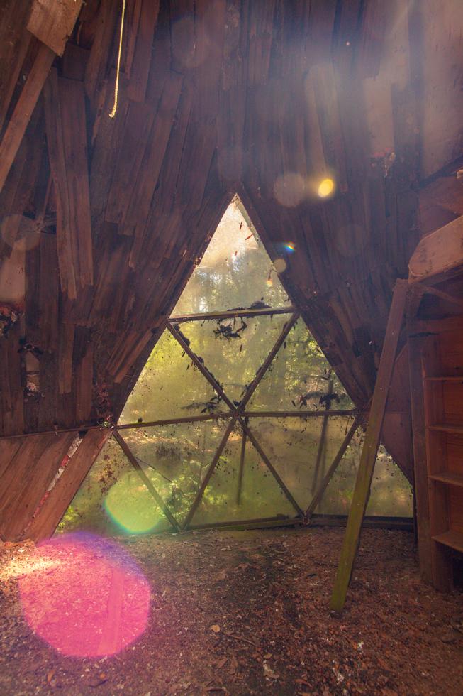 oz farm triangle dome