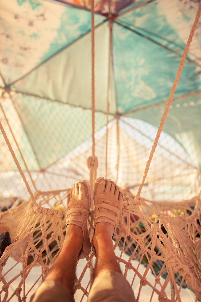 burning man hammock