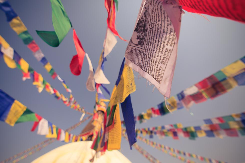 bodinath kathmandu prayer flags