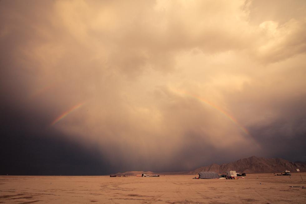 double rainbow playa