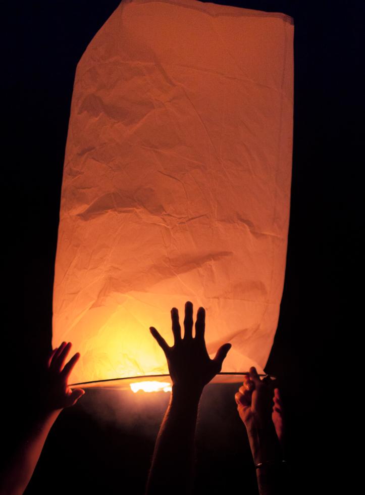 wishing lamp thailand