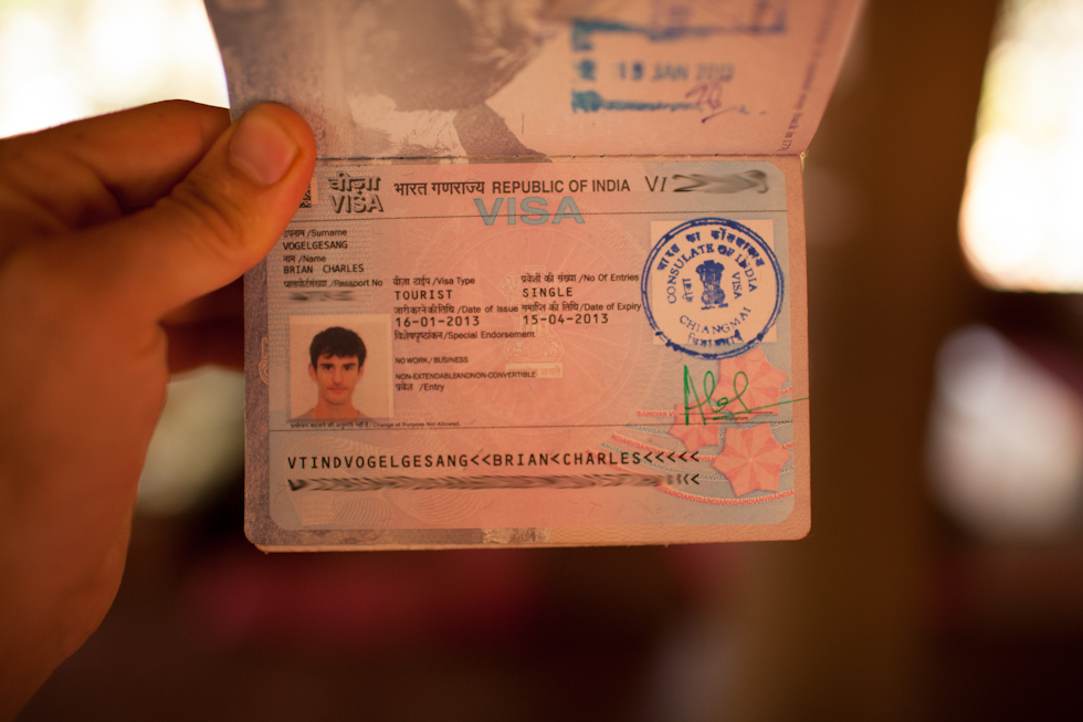 indian visa from chiang mai