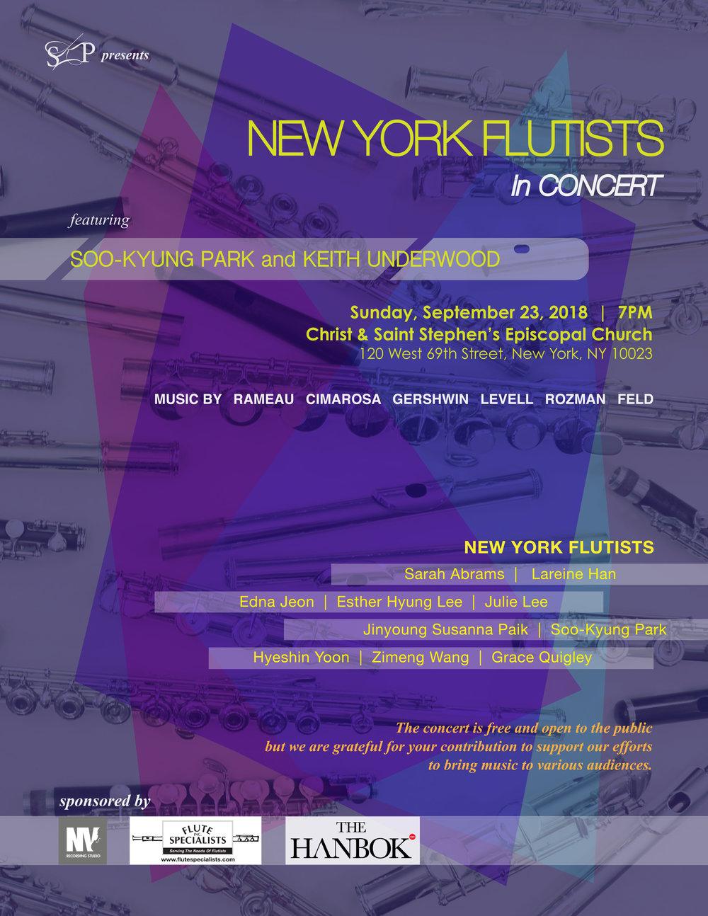New York Flutists in Concert