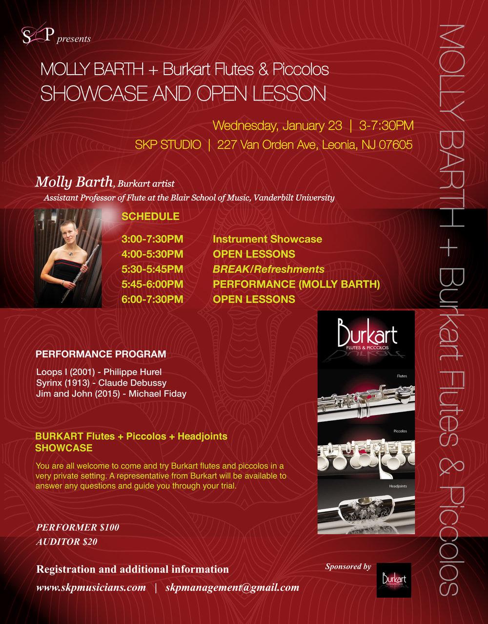 Molly Barth + Burkart Flutes & Piccolos