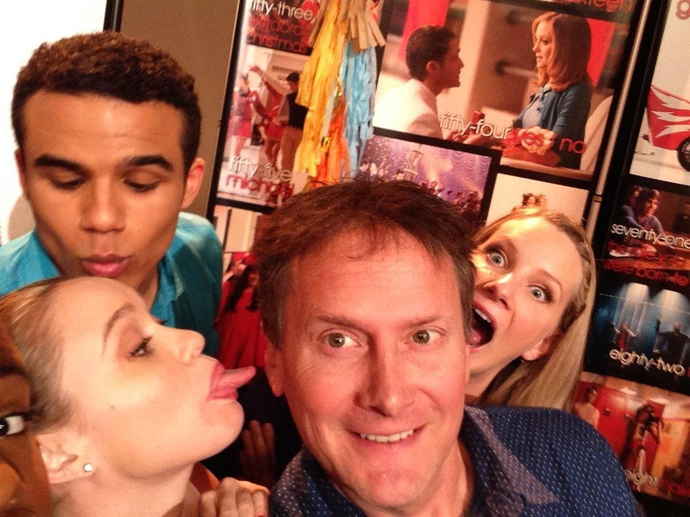 GLEE 100th EPISODE CELEBRATION WITH BECCA TOBIN, JACOB ARTIST, HEATHER MORRIS