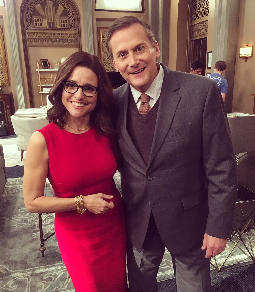 WITH JULIA LOUIS-DREYFUS; VEEP