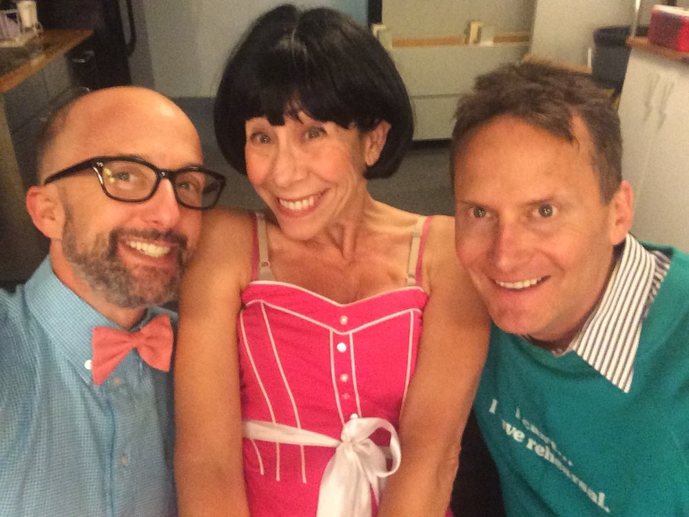 BACKSTAGE AT THE GROUNDLINGS WITH JIM RASH AND MINDY STERLING