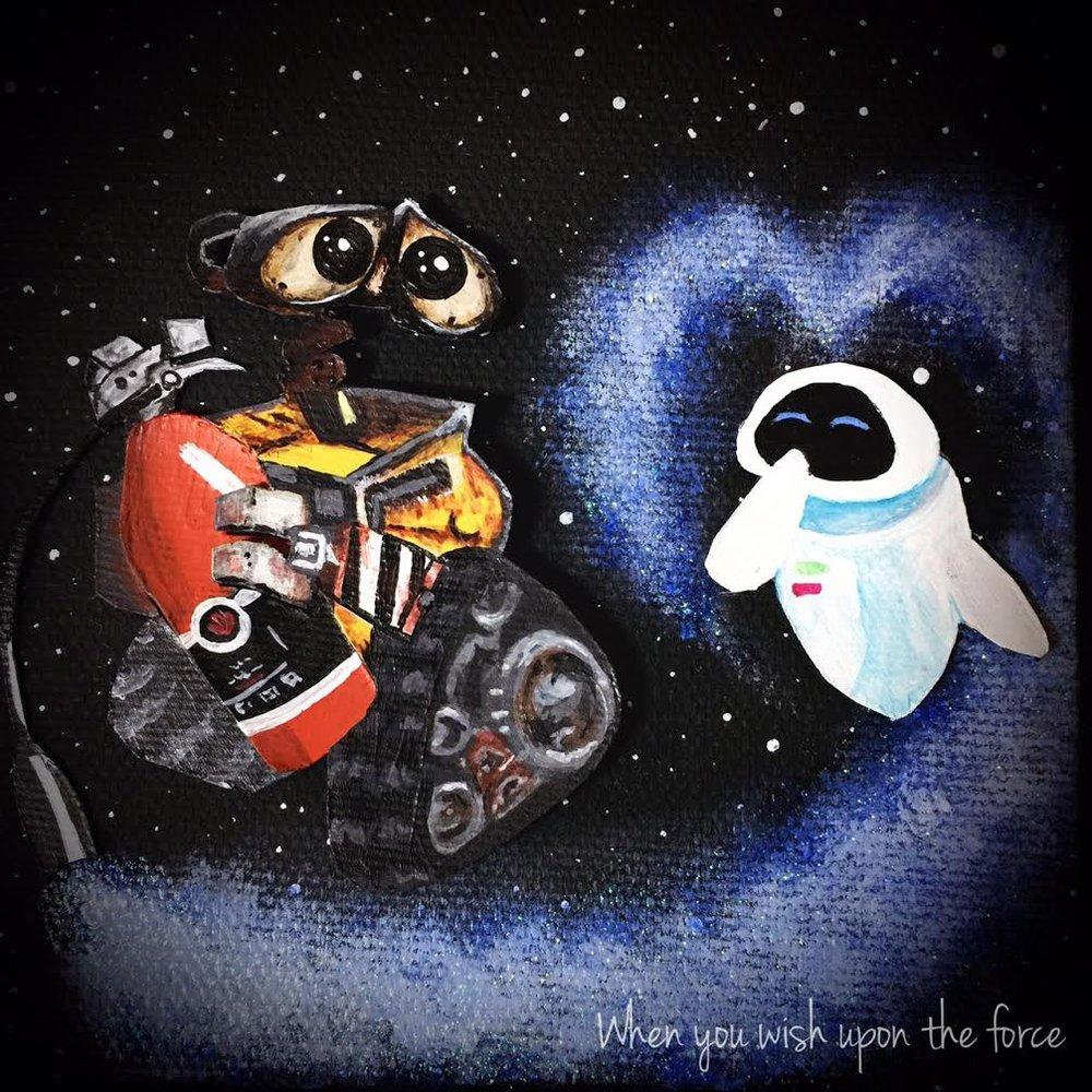 Dancing in space