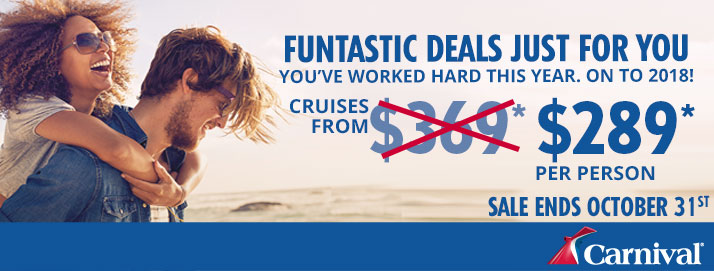 Cruise into Savings | Carnival Cruise Deals | Cruise Vacations | Cruises to Mexico | Ashley Rae Co.