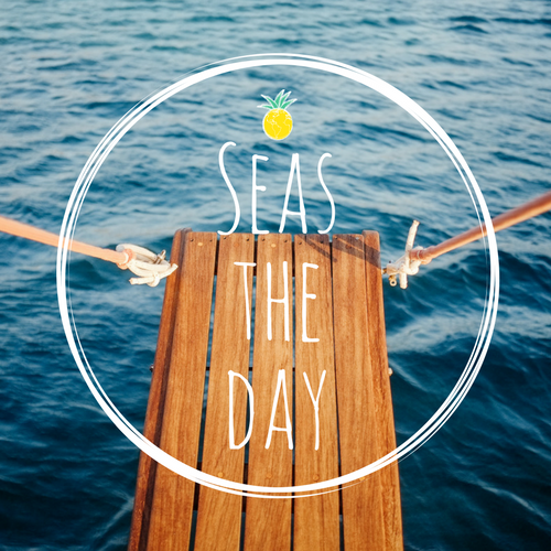 Cruise Quotes | Seize the Day | Seas the Day | Cruise Vacations | Travel Planning | Vacation Planner | Ashley Rae Co.