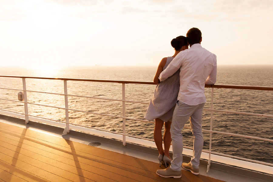 Honeymoons - You've tied the knot! Why not plan on spending your honeymoon on a ship visiting multiple destinations?