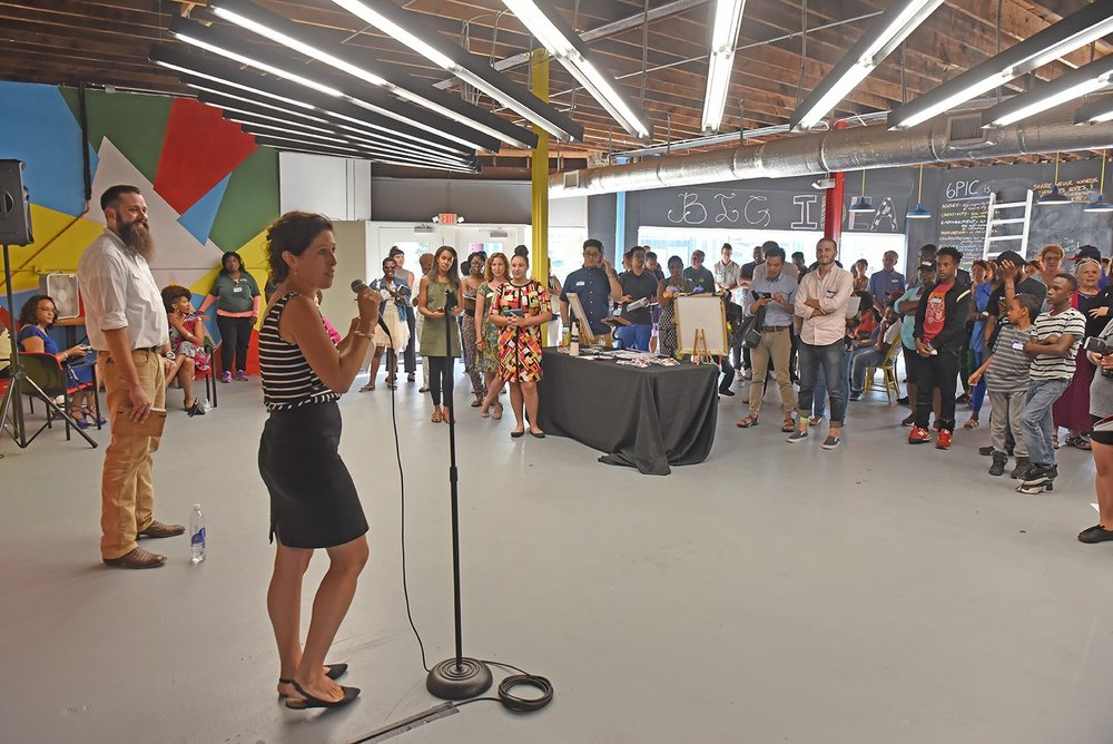 "The New 6PIC Arts and Education Center Becomes a Nonprofit Hub in Highland Park - ""It's probably one of the projects that's most representative of how the city of Richmond is going to solve problems in the future."""