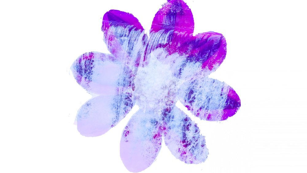 Flower Waterfall - This piece shows the usage of adobe photoshop with merging two photos and layering them.