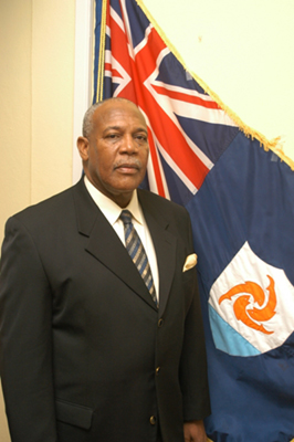Chief Minister The Honorable Victor Banks