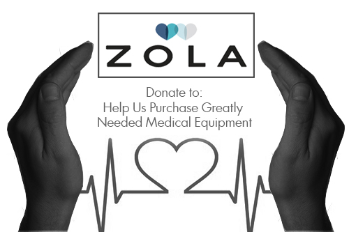 Click to be taken to the Zola website to Donate Funds to purchase Medical Equipment for Anguilla.