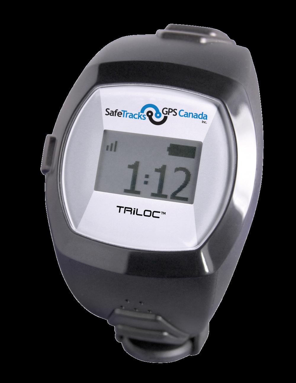 SafeTracks Triloc Wristwatch