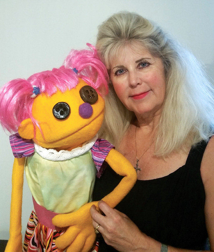 Puppeteer Michelle Warkentin explores how a dementia diagnosis can affect a family in her play,  Family Tear . Photo courtesy Michelle Warkentin.
