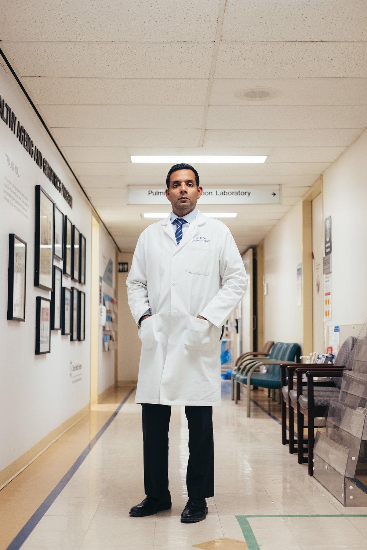 Dr. Samir Sinha is the director of geriatrics at Sinai Health System and the University Health Network in Toronto. Photo By Reynard Li.