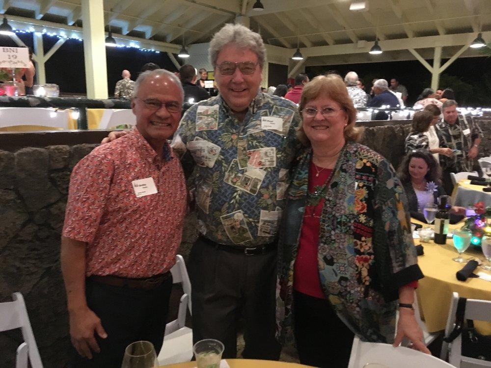 Bobby Bunda, Boyd Ready, and Antya Miller
