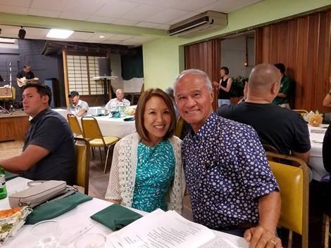 Gail Bunda and Bobby Bunda