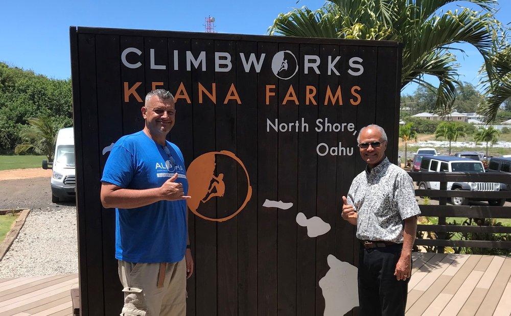 Aaron Campbell, Climbworks Keana Farms