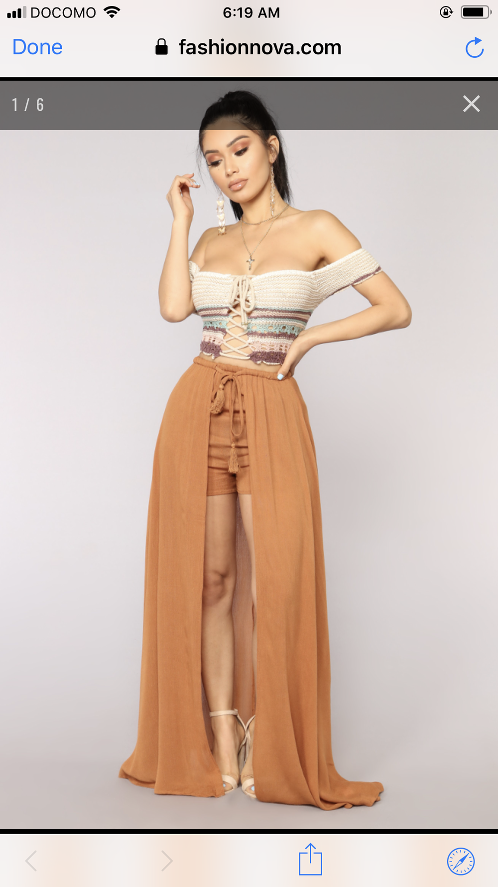 Walk all day overlay shorts in camel