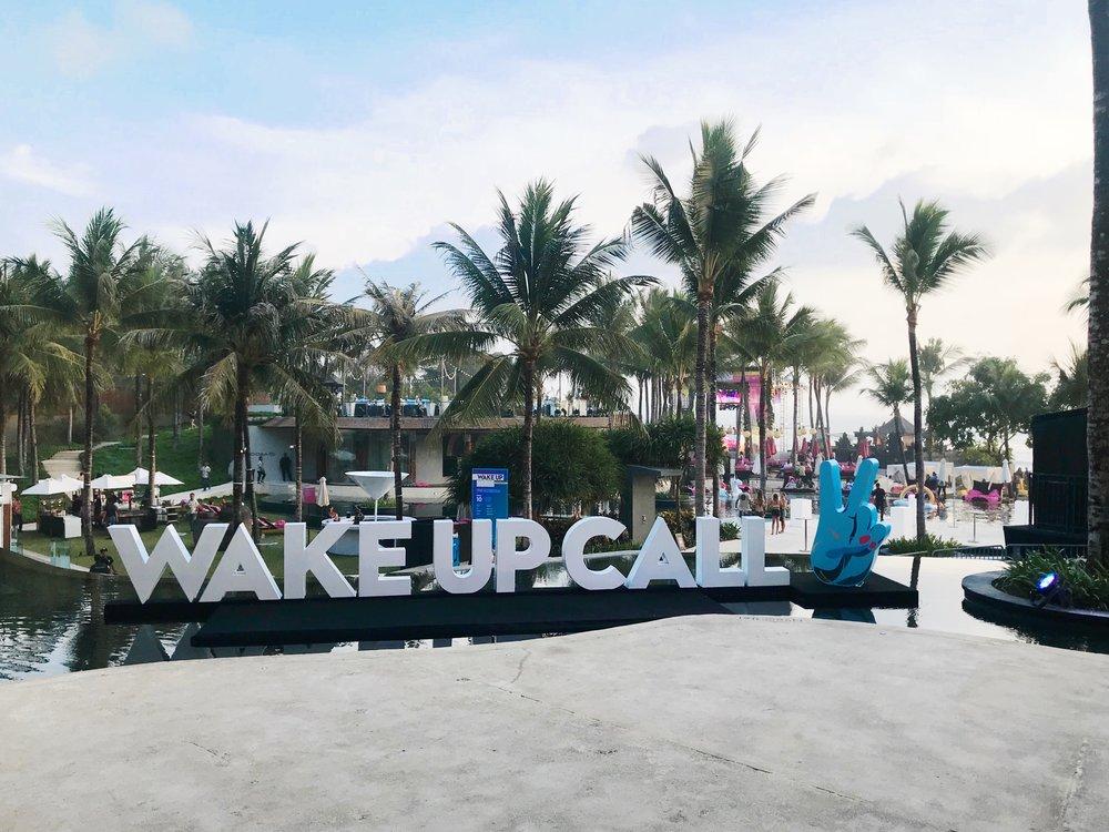 Wakeup Call Bali