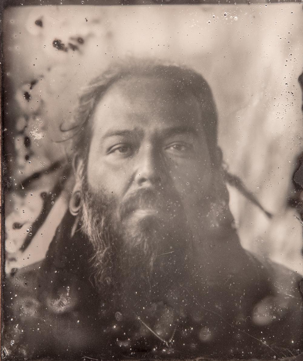 Modern Tintype Portrait