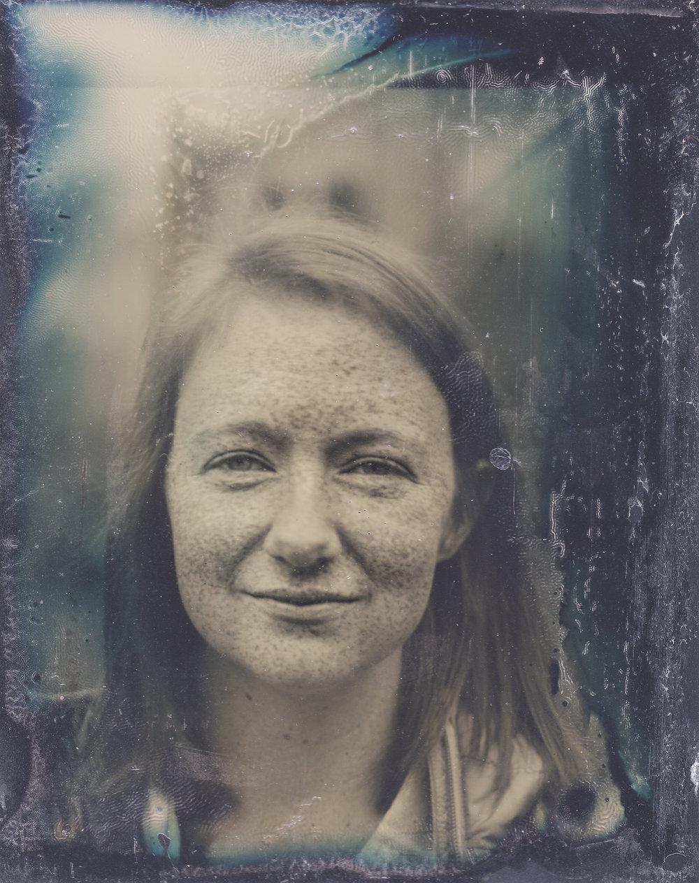 Modern Tintype portrait photographer Steven Glynn