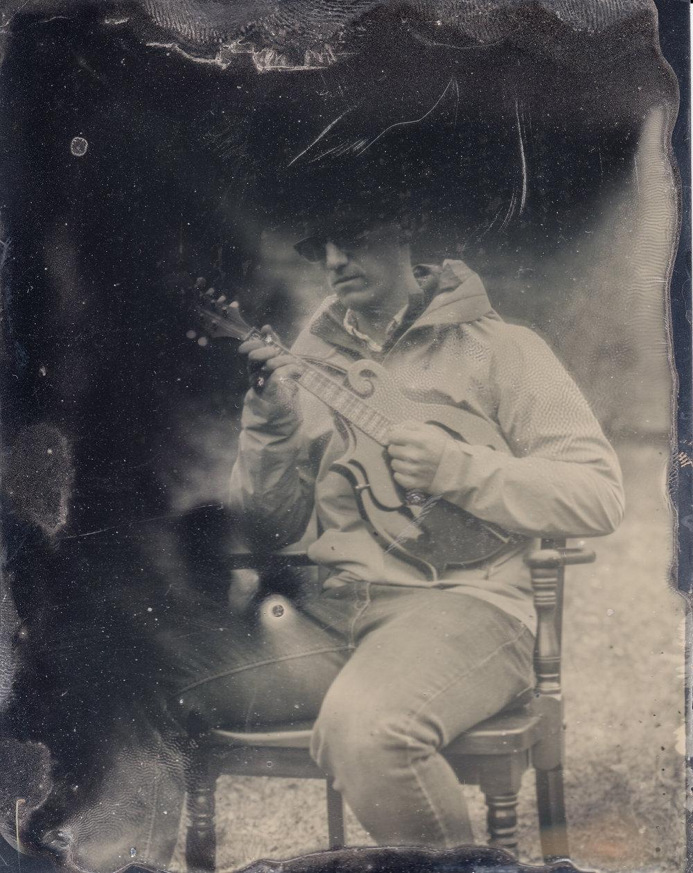 Musician tintypes by artist photographer Steven Glynn