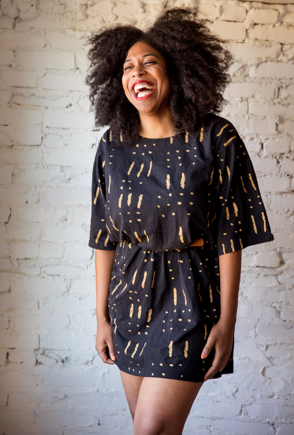 Lesly Washington, Founder of Tchoup Vintage.