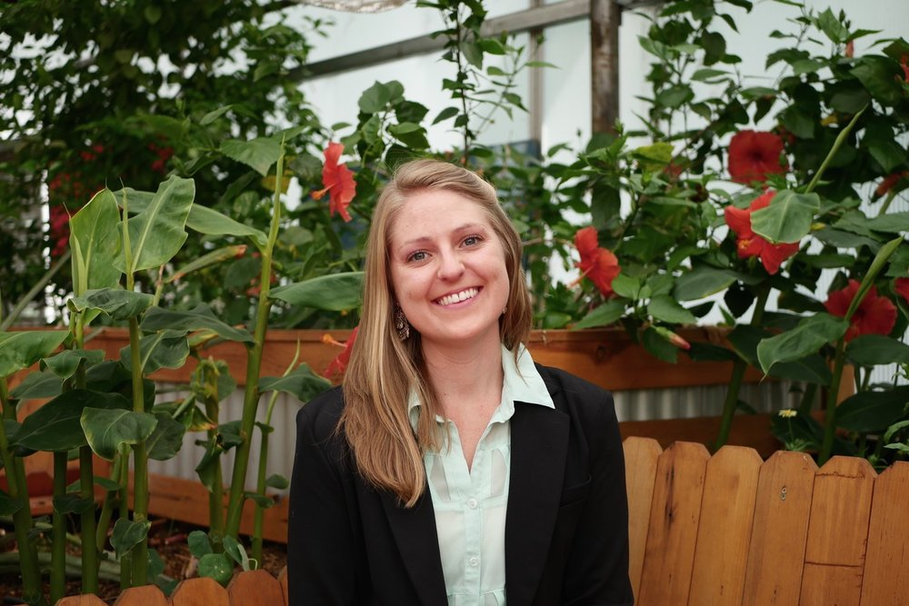 Kayla Birdsong, Executive Director of GrowHaus.