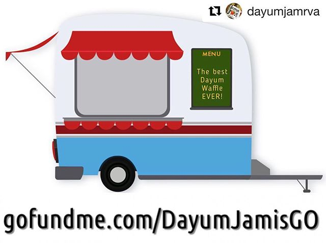 As some of you have seen in my story or may know... I work with an amazingly awesome woman for her business @dayumjamrva She has really big dreams to make this small company a big deal. This is going to be so awesome when it gets up and running! Dayum Jam in all its glory with awesome waffles! What could be better 😉 Please click the link in my profile to contribute as little or as much as you want! Every dollar counts! 😁  #Repost @dayumjamrva with @get_repost ・・・ We're trying to do a pretty big thing, please read our story at gofundme.com/DayumJamisGO #dayumjam #dayumjamrva #dayumjamisgo #foodtrailer #gofundme #queerbizowner #gayrva #outrva #rva #rvaeats #rvafood #rvafoodie #shoplocalrva #rvalocal