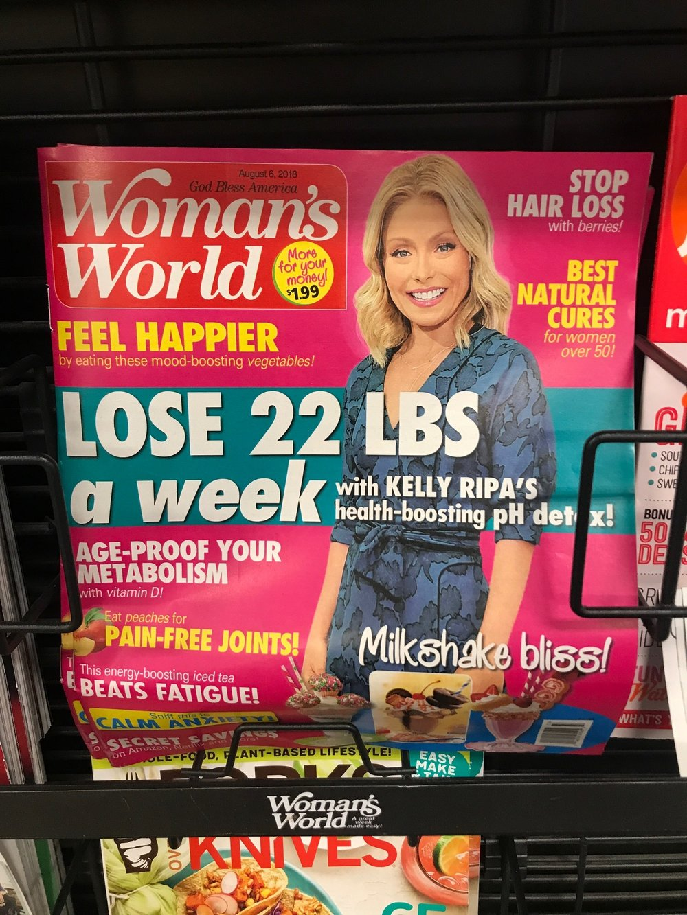 Losing 22lbs in a week is not a real thing. There is no way this is healthy, sustainable and realistic. Do not be fooled by these headlines!