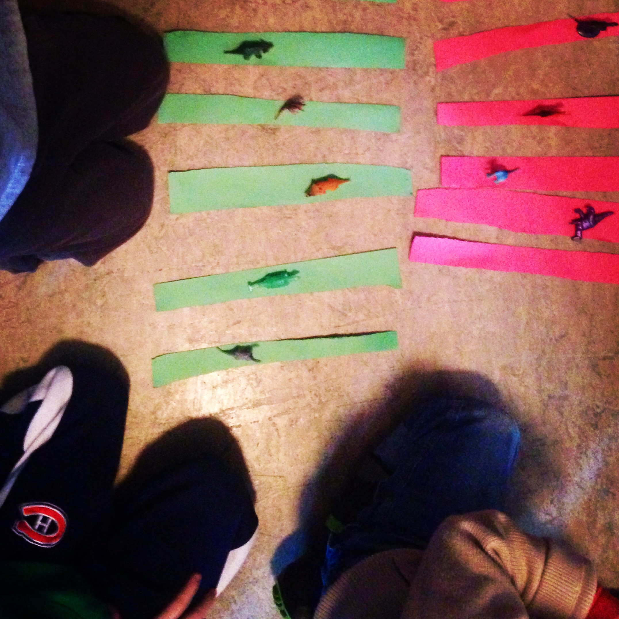 sorting and graphing dinosaurs