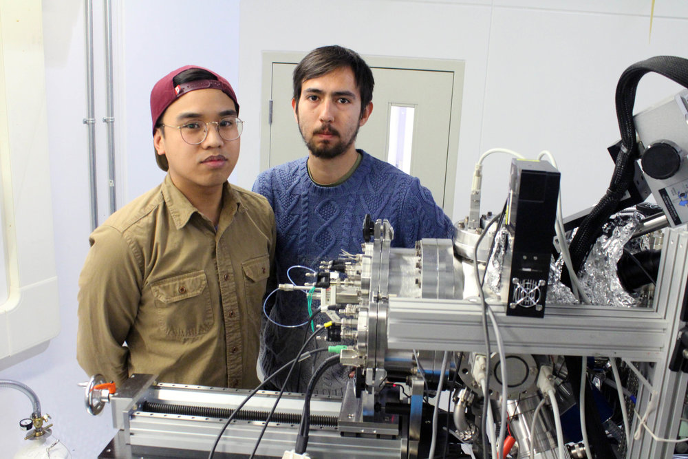 - PhD student Phil De Luna designed, synthesized, and tested the catalyst, performed X-ray spectroscopy studies, and carried out advanced computational simulations. PhD student Rafael Quintero-Bermudez performed X-ray spectroscopy, materials characterization, and data analysis.
