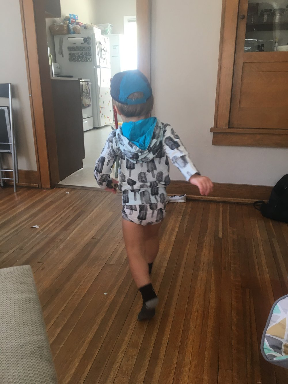 Cuss picked his own outfit <3