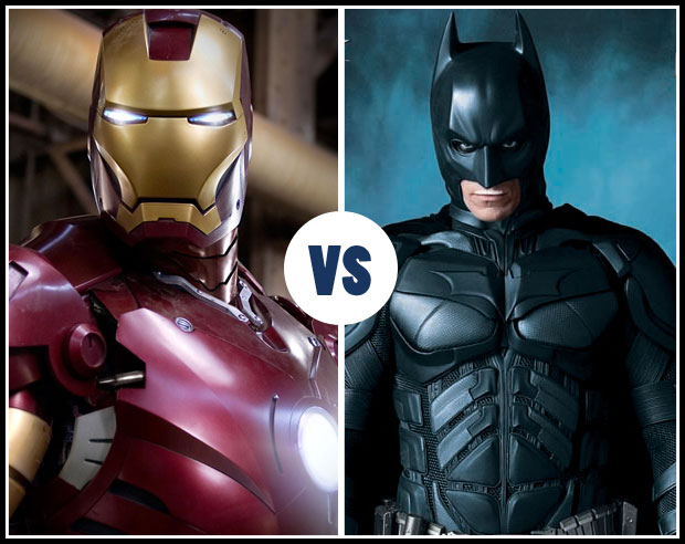 Is Ironman Marvel's equivalent to DC's Batman? Just billionaires with Gadgets?