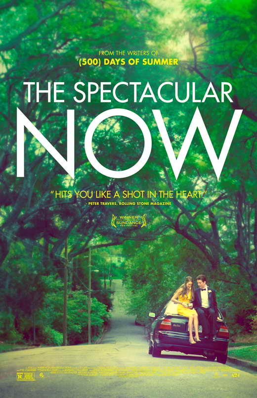 The Spectacular Now, written by  James Ponsoldt is A24's 2013 film starring  Miles Teller