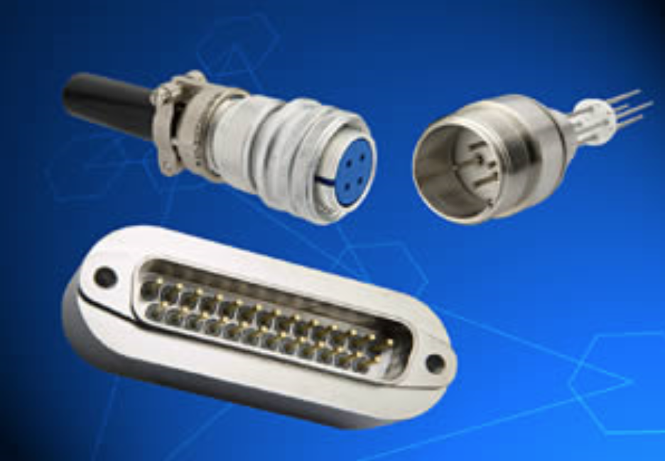 Connectors Specifications - Sub-D, Micro-D, Octal, hermetic USBSingle/ Double endedVoltages: 0 - 12 kV DCCurrent 0- 250 AmpsConductors: 1 - 62 pinsTemperature Range:  -269°C -  450°CInternal Pressure:  1x10-10 Torr up to 3500 psi