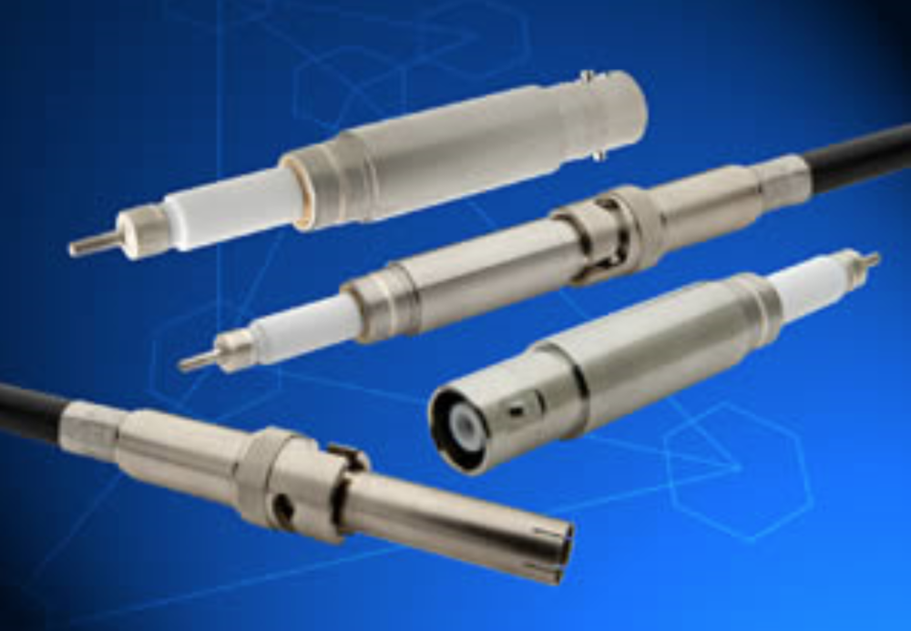 Coaxial Feedthrough Specifications - Type N, BNC, Sub – D, SMA, SMP, miniatureSingle/ double ended, with/without plugVoltage Range:  1-  20 kVCurrent Range: 1- 16.5 AmpsTemperature Range: -269°C -  450°CMount type: CF, KF, NPT, ISO, WELD