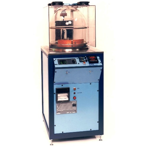 Auto Coater - Push button solutionComprise of rotating parts carousel, microprocessor controls and multiple sources, the system reliably and automatically coat parts with silver and chrome in one process.
