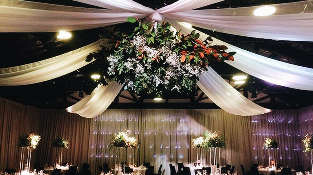 Should i hire or diy my wedding draping ceiling draping hire do it yourself wedding draping solutioingenieria Choice Image