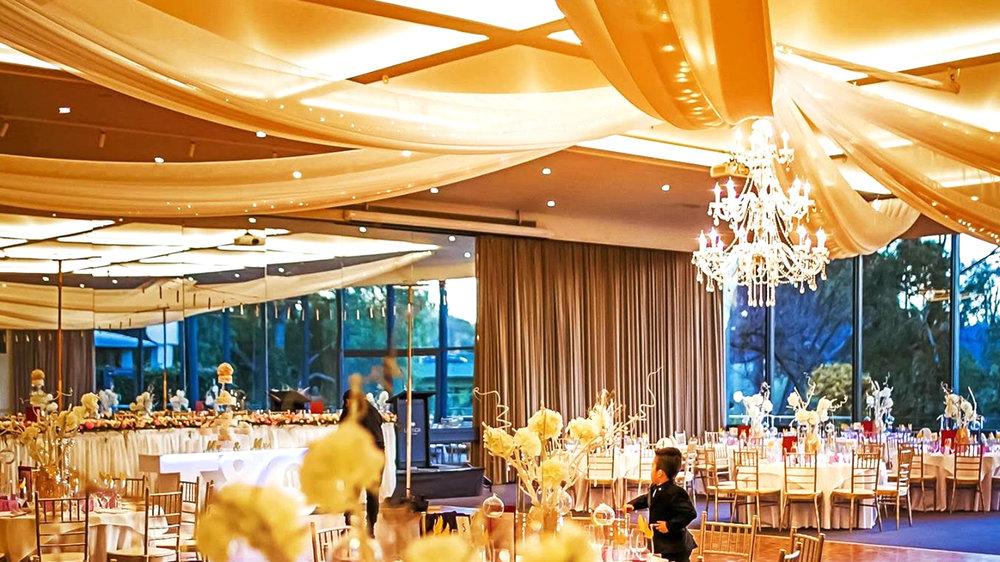 Wedding trends to watch out for in 2018 ceiling draping hire wedding ideas 2018 junglespirit Choice Image