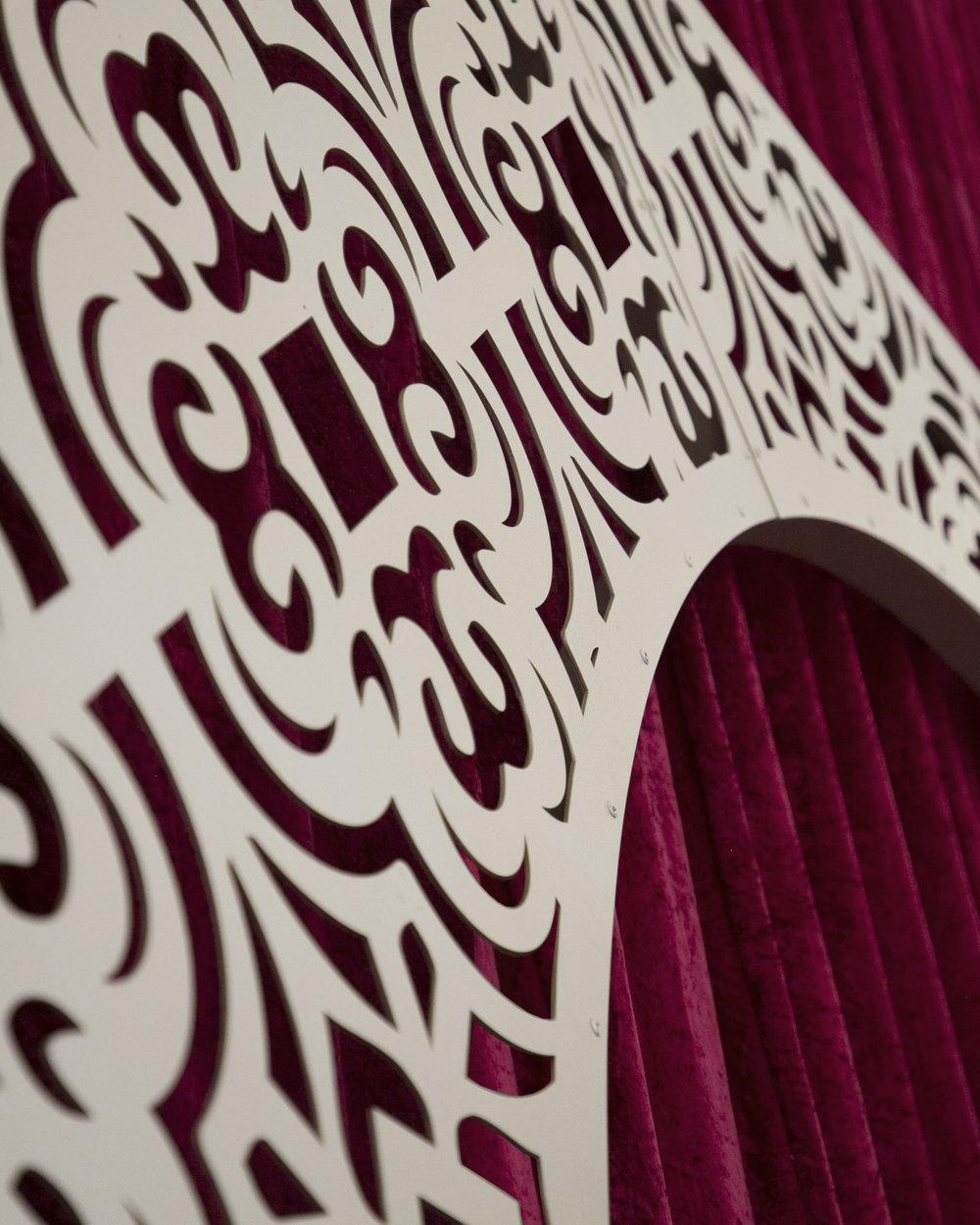 entrance arch wedding